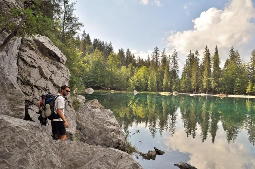 Rando au lac vert
