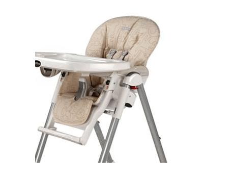 housse chaise haute peg perego sable