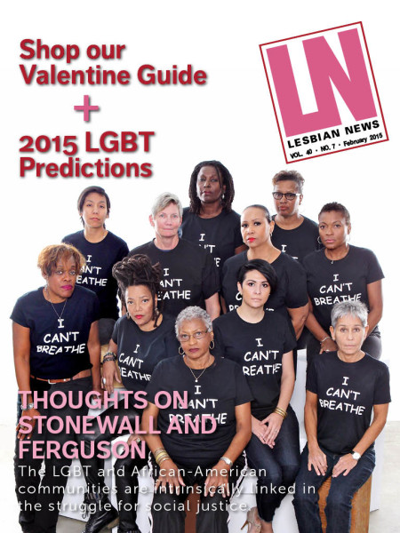 Lesbian News February 2015 Issue