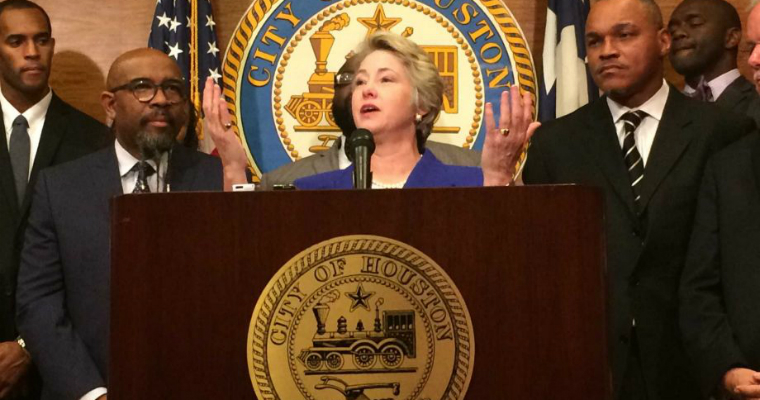 HERO Mayor Annise Parker