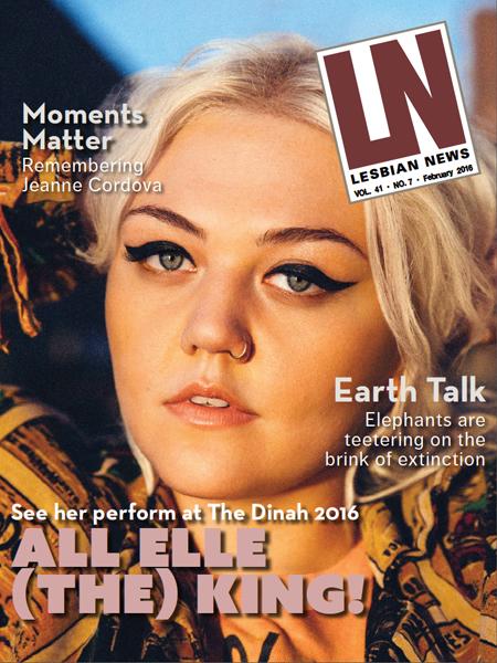 Lesbian News February 2016 Issue