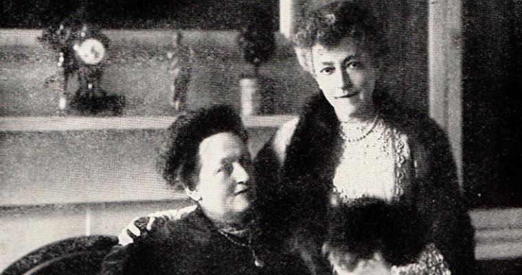 Elsie de Wolfe and Elisabeth Marbury