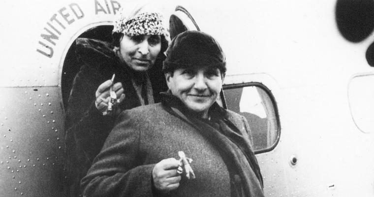 Gertrude Stein and Alice B Toklas