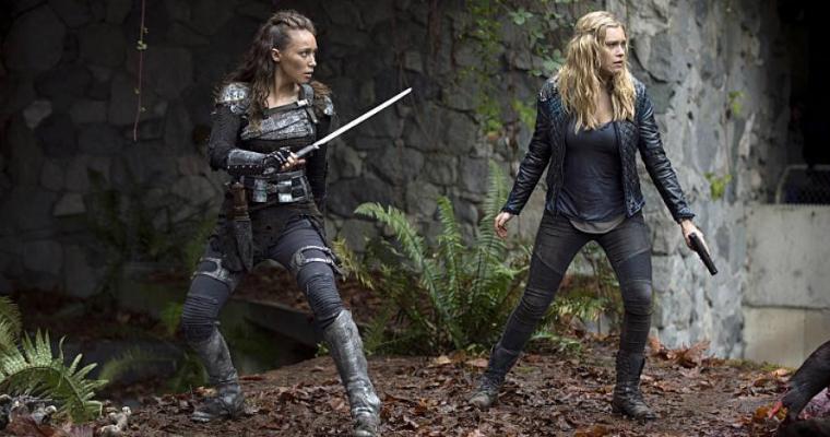Lexa and Clarke - Halloween costumes