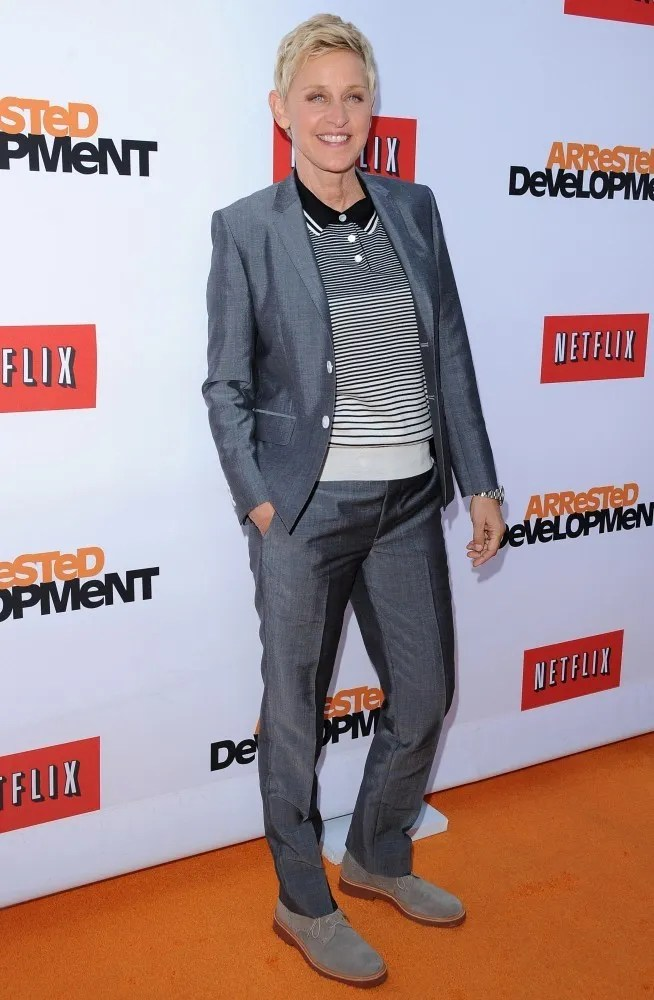 Ellen DeGeneres fashion