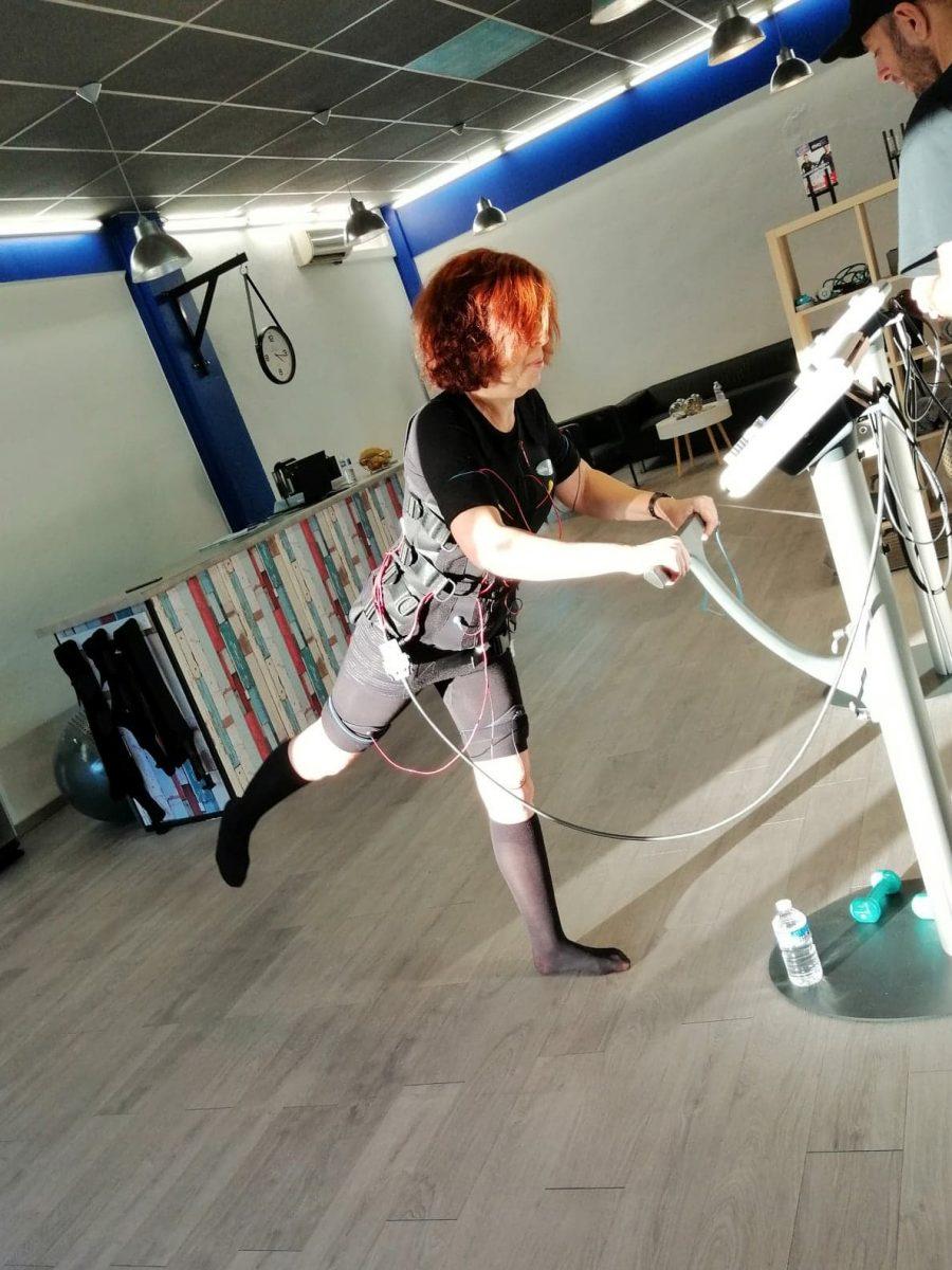 myotec - defi forme - sport - connecté- electrostimulation - fitness - forme