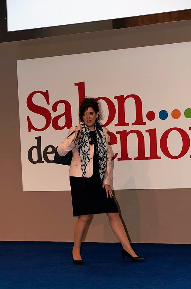 mannequin - senior - defile - peter hahn - fashion show