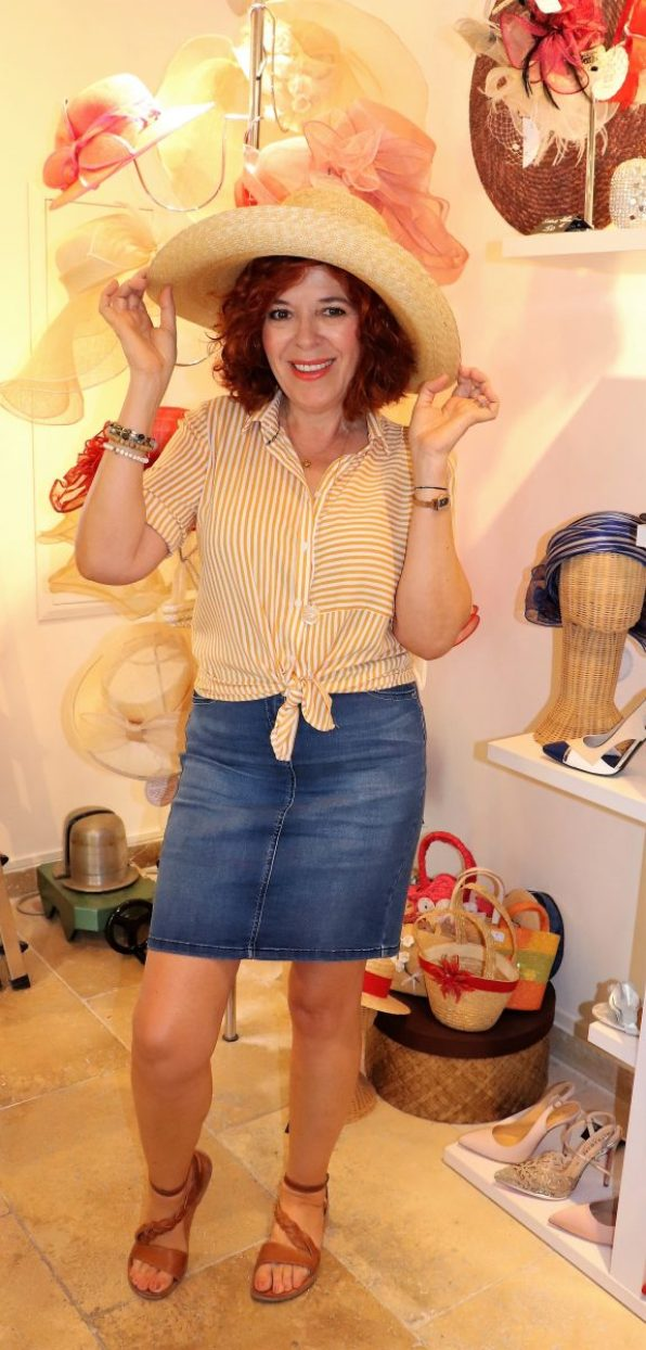 Bréal - mode - femme - prêt à porter - quinqua - chic- été