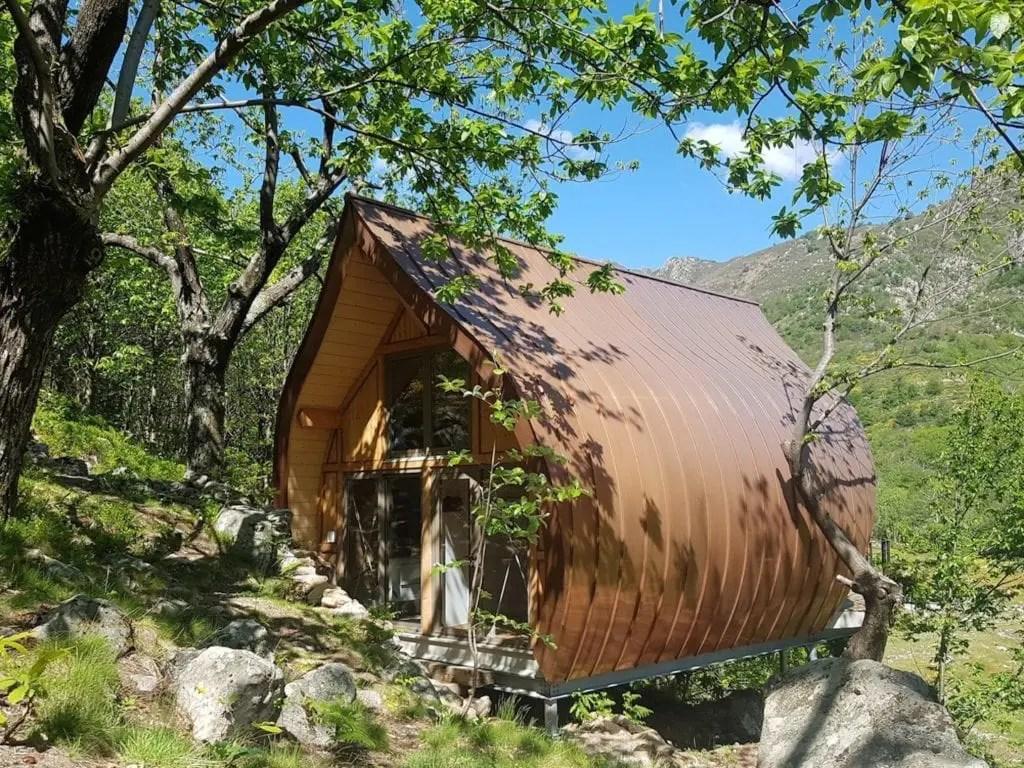 La Châtaigne - cabane insolite en Ardèche