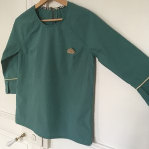 blouse Stockholm atelier Scammit