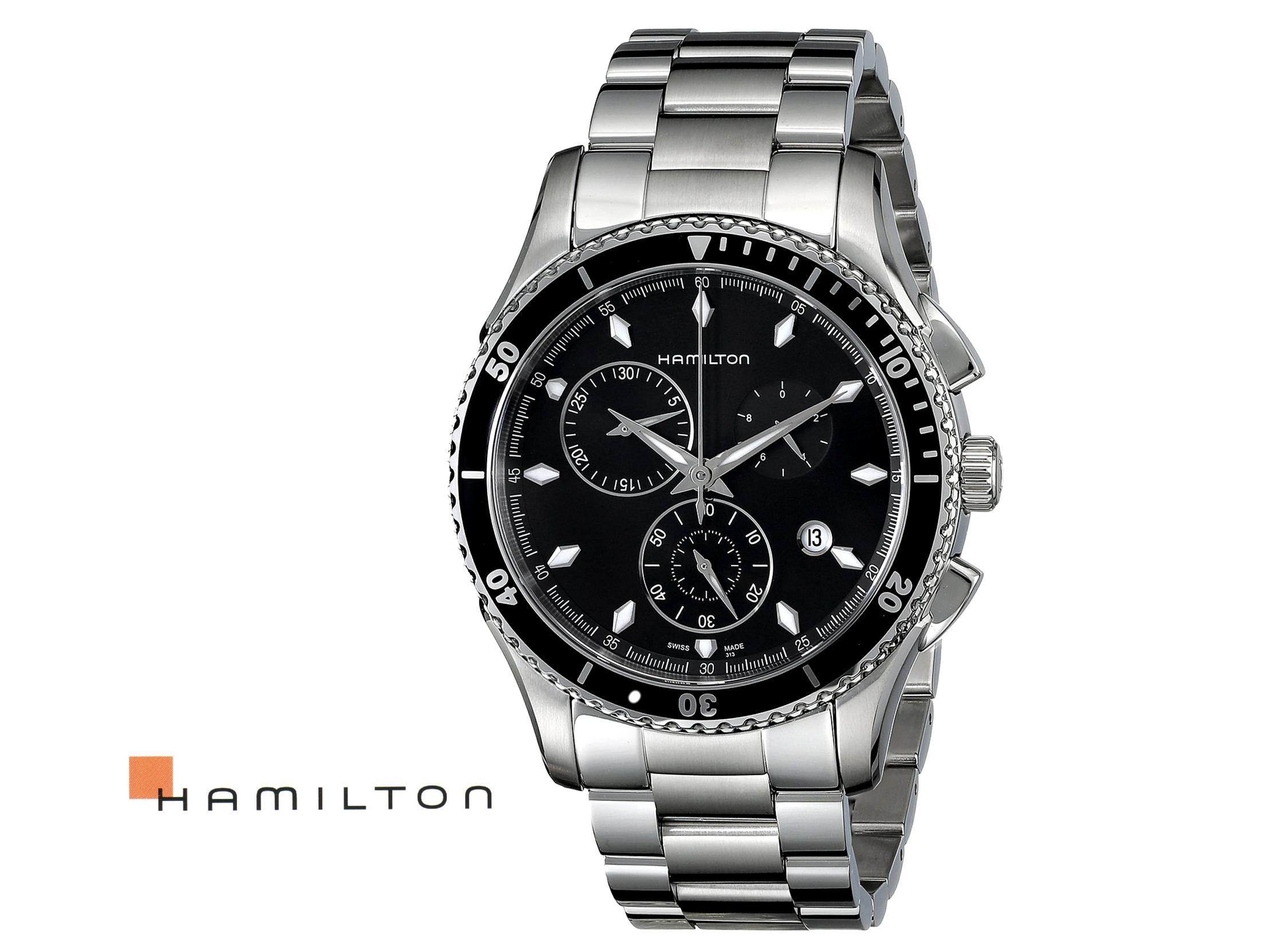 prezzo competitivo 6df0c 668bf HAMILTON - Cronografo in acciaio