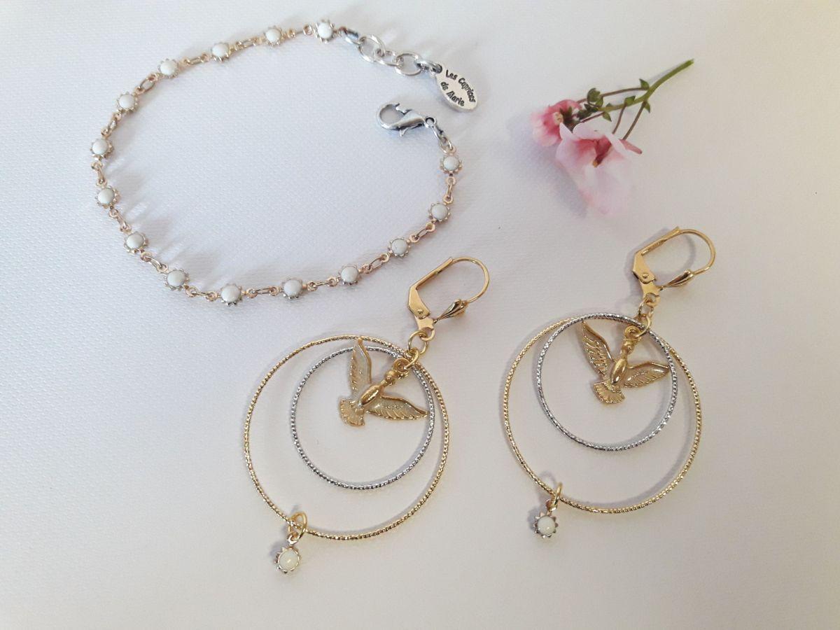 Collection Créoles et bracelet Anka soleil