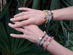 Collection Talisman bracelets perles