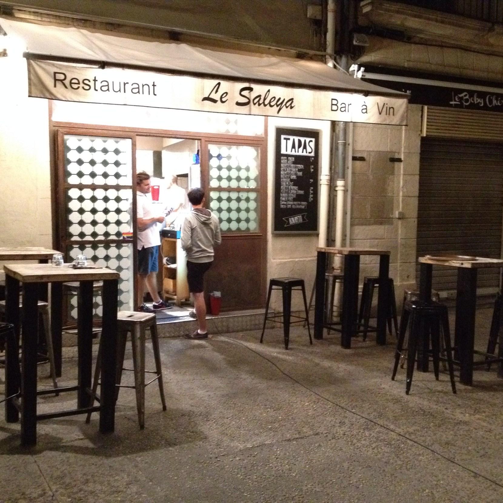Le temps d'un dîner à Montpellier
