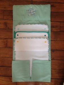 pochette à langer multi-serviette