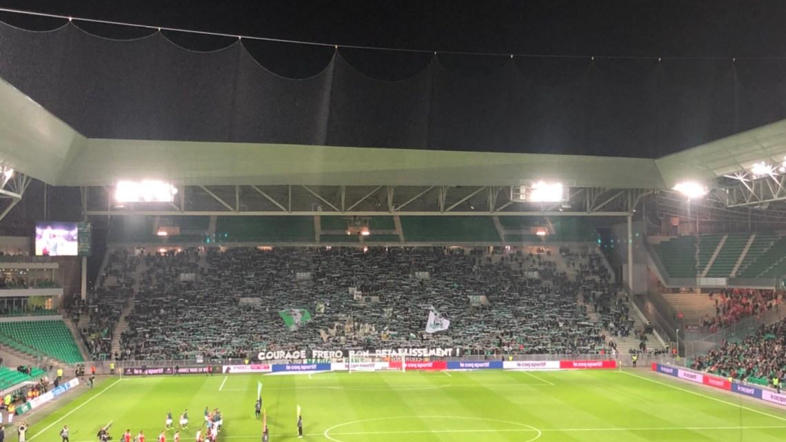 Une soirée au stade Geoffroy Guichard à Saint Étienne
