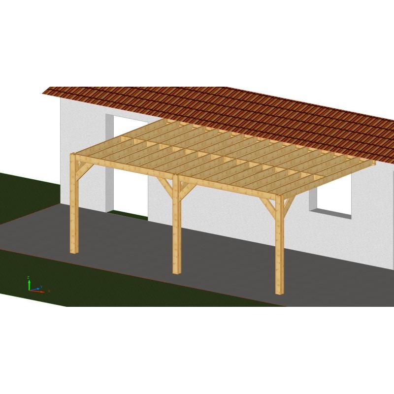 ossature plaza 4x5 5m