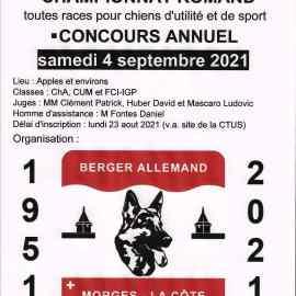 Challenge et Championnat Romand du BA 2021