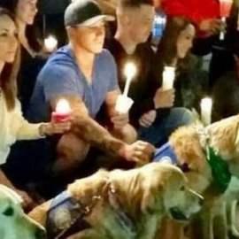 Des chiens de thérapie envoyés auprès des victimes de la fusillade de Las Vegas