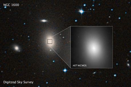 Un buco nero 17 miliardi di volte più massiccio del Sole