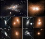 Una popolazione di coppie buchi neri in fase di fusione