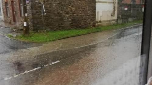 Propreté - pluie