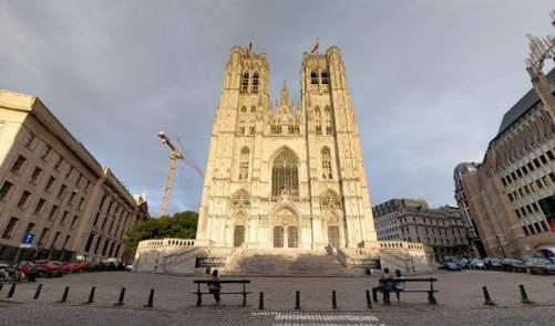 ELIA Tracé SUD - Pylône aussi hauts qu'une cathédrale