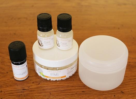 masque huile de coco ingredient