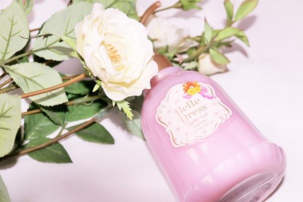 belle dress body lotion etude house