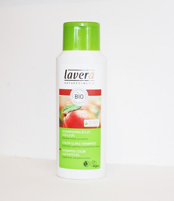 lavera shampoing bio eclat couleur