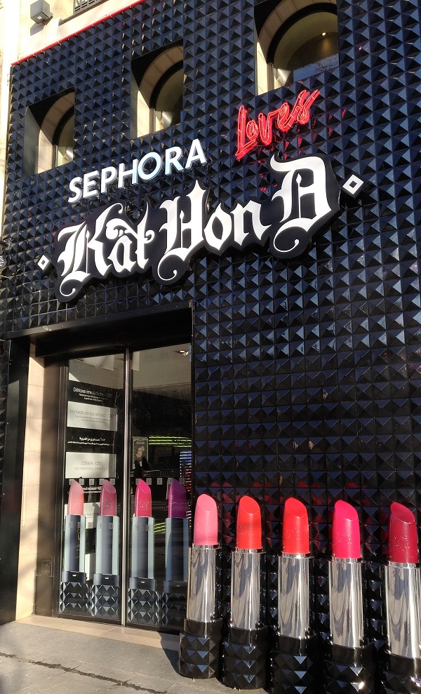 kate von d chez Sephora