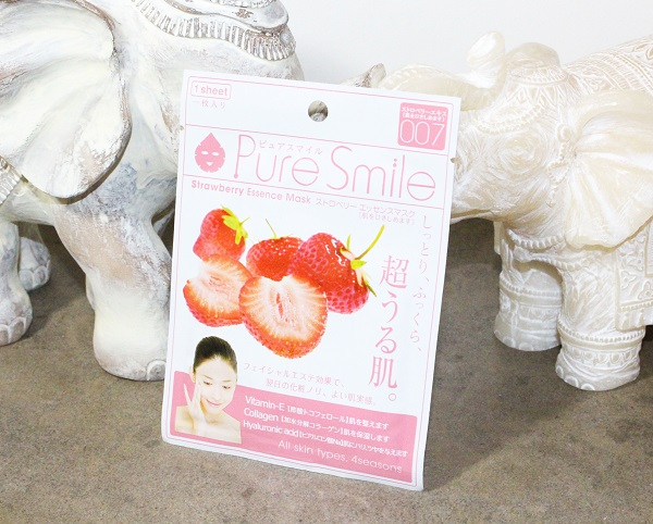strawberry essence mask pure smile