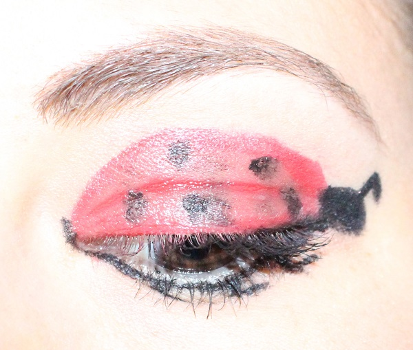 maquillage coccinelle monday shadow challenge