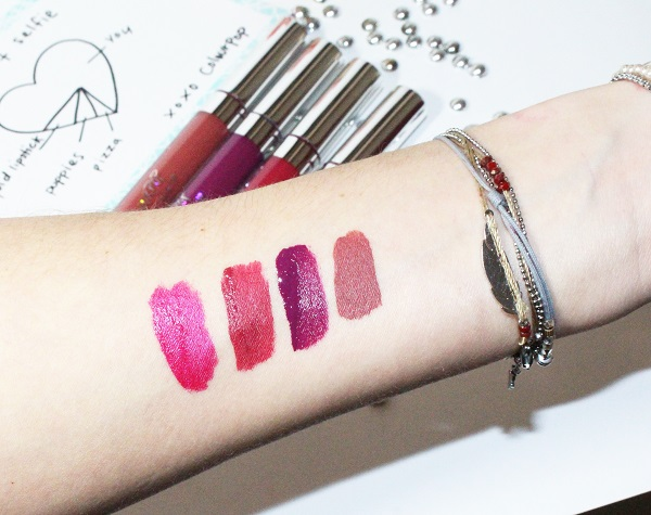 ultra satin lip swatch secs