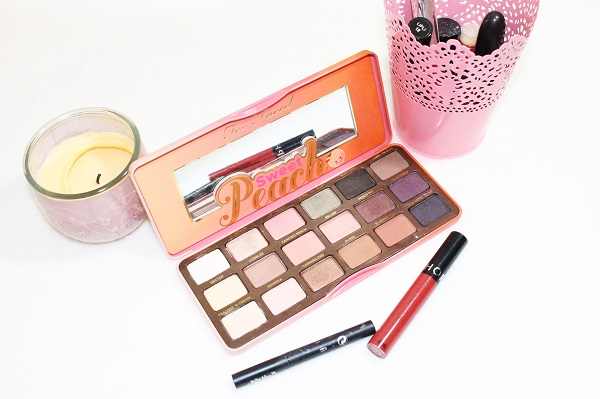 maquillage palette sweet peach
