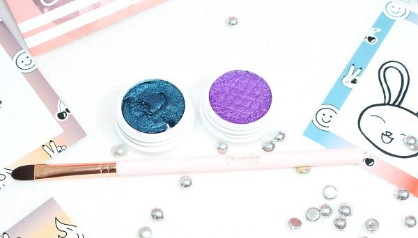 Coconut Dare colour pop eyeshadows