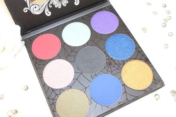 palette tz cosmetix twilight eyeshadow