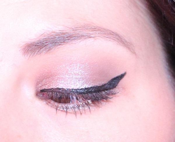 maquillage brun argente msc