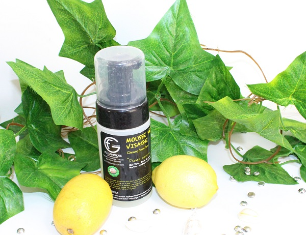 mousse nettoyante citron fg cosmetique