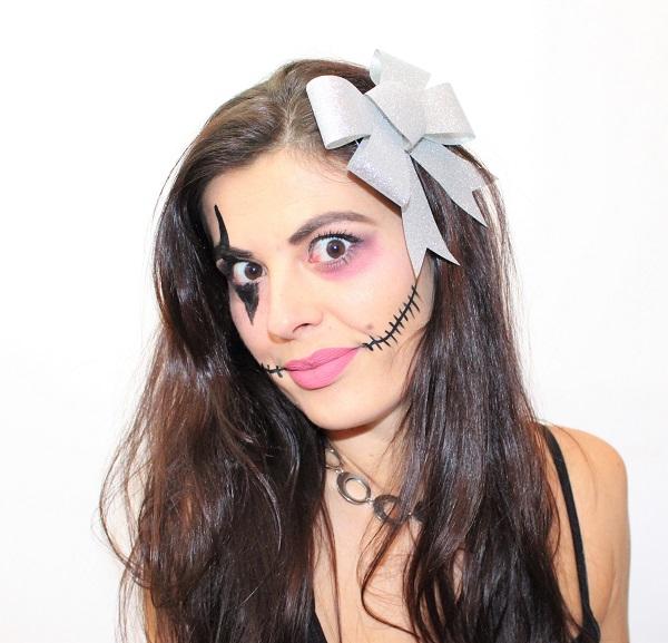 beauty defi poupee halloween