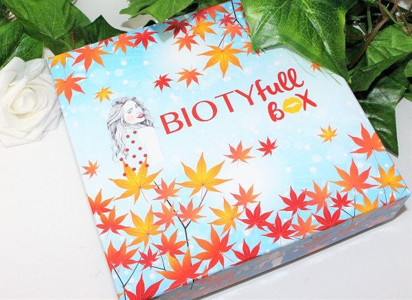 biotyfull box octobre l'automnale