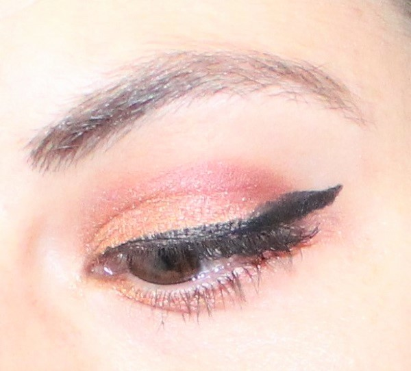 maquillage monday shadow challenge bourgogne et or