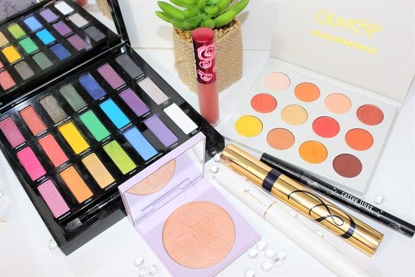 palettes maquillage camel et jaune msc