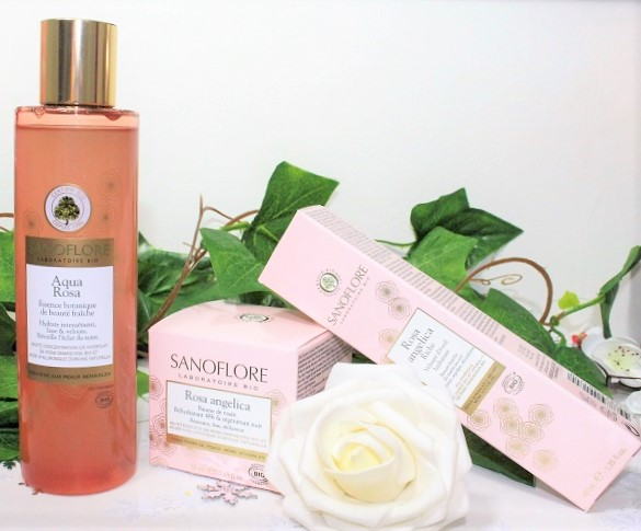 Sanoflore gamme bio à la rose
