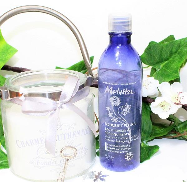 eau micellaire démaquillante Bouquet floral de Melvita