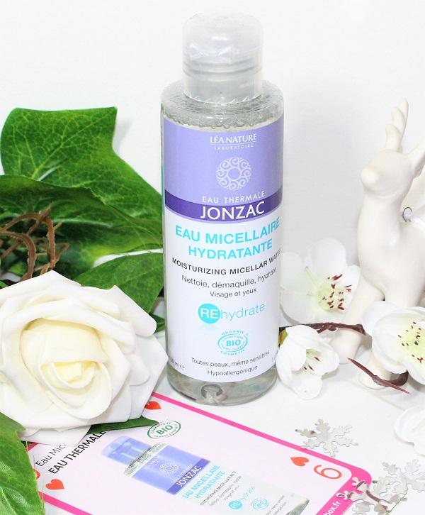 eau micellaire hydratante eau thermale de jonzac Biotyfull box