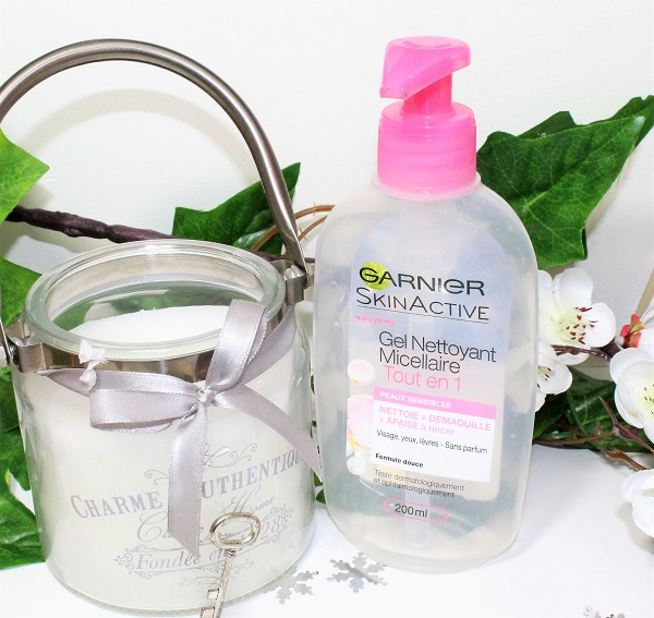 gel nettoyant micellaire de Garnier