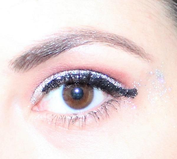 maquillage paillettes