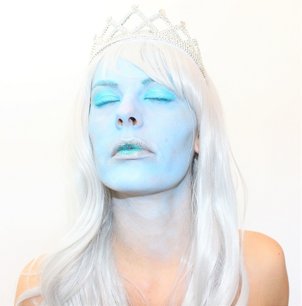 maquillage reine des glaces art freak show