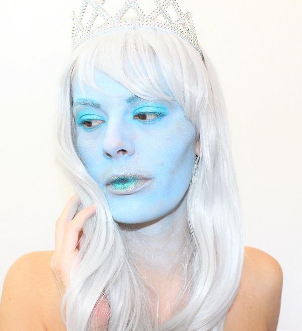 maquillage reine des glaces femme